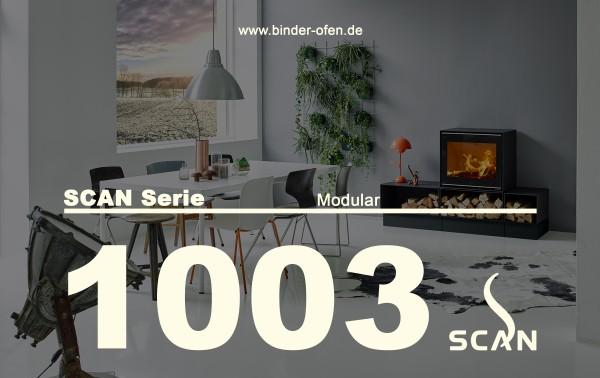 Kaminofen SCAN Serie 1003-B