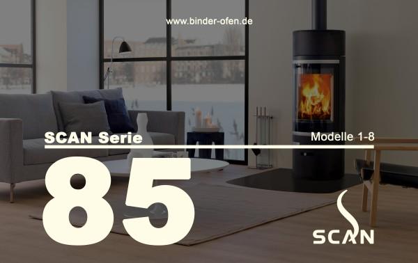 Kaminofen SCAN Serie 85