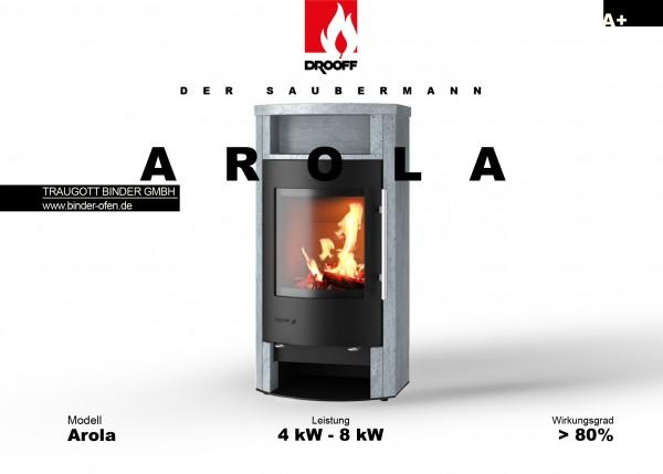 Kaminofen AROLA + AROLA EDITION